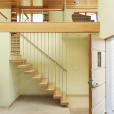 Modern Staircase by Cody Anderson Wasney Architects, Inc.