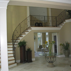 Traditional Staircase by Design Studio -Teri Koss