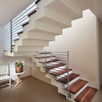 Loft Contemporary Staircase Edmonton By Habitat Studio