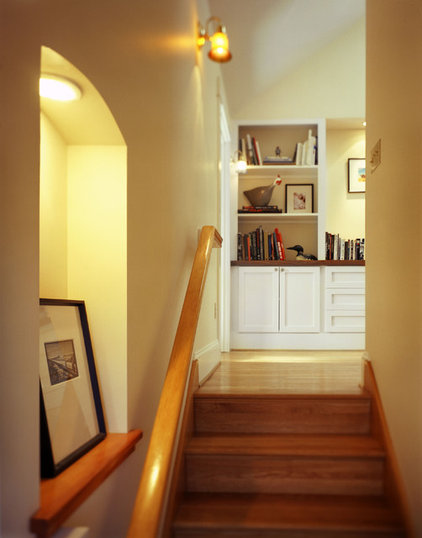 Traditional Staircase by Emerick Architects