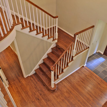 Staircase/Entry - Whole House Remodel