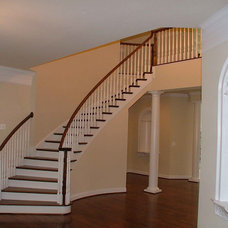 Traditional Staircase by Fairhaven Homes