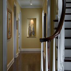 Traditional Staircase by Fredman Design Group