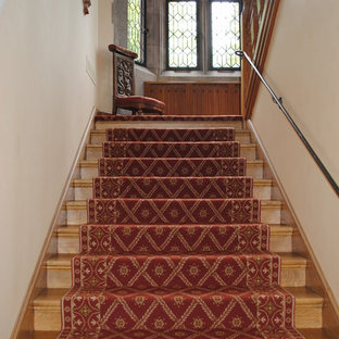 Inspiration for a timeless staircase remodel in Minneapolis