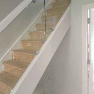 This Is An Example Of A Contemporary Straight Staircase In Cork.