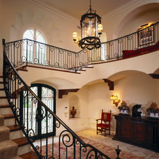 Traditional Staircase by Gordon Gibson Construction