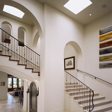 Mediterranean Staircase by Gordon Gibson Construction