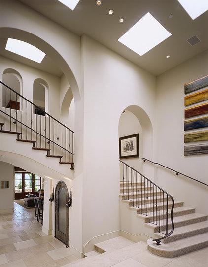 Mediterranean Staircase by Gordon Gibson Construction