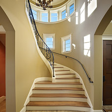 Traditional Staircase by Gregory Carmichael