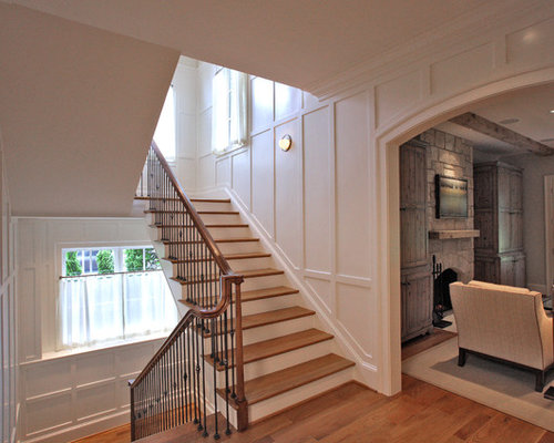 best staircase panels design ideas   remodel pictures houzz ideas for finishing basement steps basement under stairs ideas