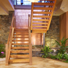 Rustic Staircase by Karlene Hunter Baum, Allied ASID