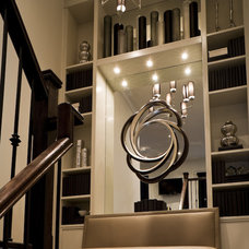 Eclectic Staircase by Toronto Interior Design Group | Yanic Simard