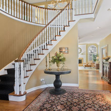Traditional Staircase by LMR Designs, LLC