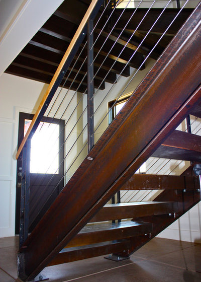 Contemporary Staircase by Lynn Malone