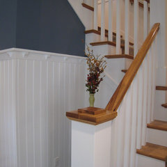 traditional staircase by New Urban Home Builders