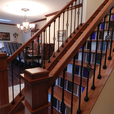Traditional Staircase by Newmyer Distinctive Remodeling