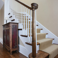 Traditional Staircase by Normandy Remodeling