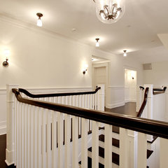 traditional staircase by Paul Moon Design