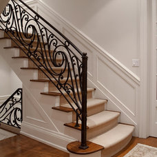 Traditional Staircase by Peter A. Sellar - Architectural Photographer