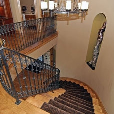 Traditional Staircase by Keystone Design Build, Inc.