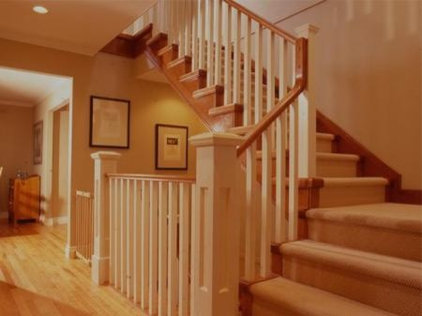 Traditional Staircase by Kallweit Graham Architecture