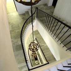 Mediterranean Staircase by ROMA | Eco-Sustainable Building Technologies