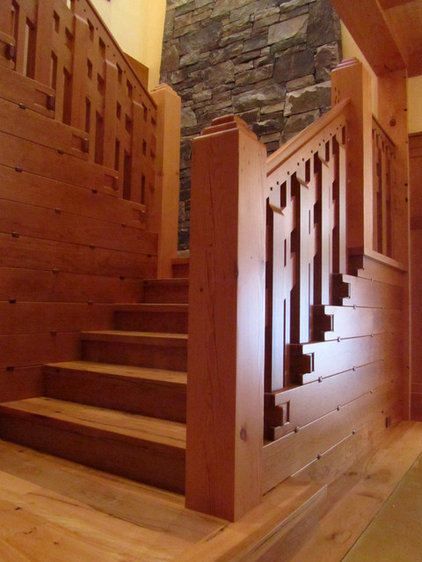 Contemporary Staircase by Ryan Group Architects