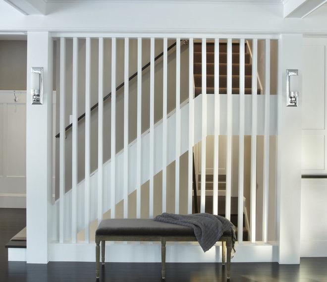 Contemporary Staircase by DiGiacomo Homes & Renovation