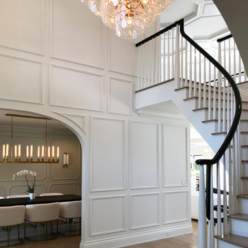 Staircase/Second Floor Landing - Contemporary Project