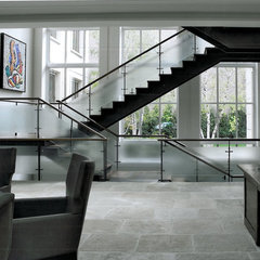 contemporary staircase by SemelSnow Interior Design, Inc.