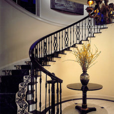 Traditional Staircase by SemelSnow Interior Design, Inc.