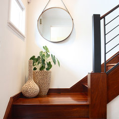 contemporary staircase by Shannon Malone