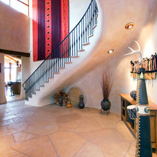 Southwestern Staircase by Sterling E. Stevens Design Photo