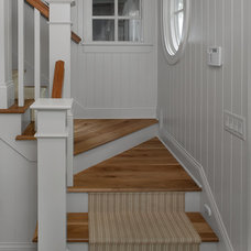 Beach Style Staircase by Studio M Interiors