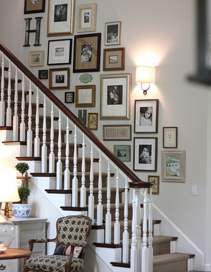 Staircase Decorating Idea