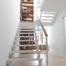 Modern Staircase by Handwerk Interiors