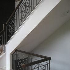 Modern Staircase by Carmel Developments Inc