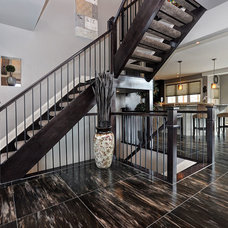 Traditional Staircase by Doyle Homes