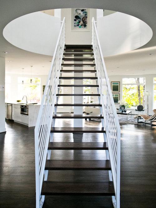 Modern Steel Staircase Houzz