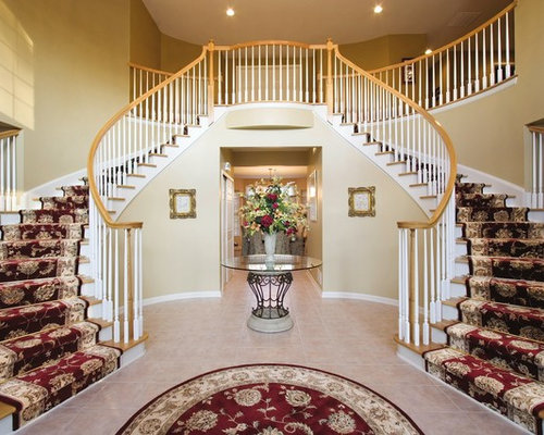 Foyer With Stairs Houzz
