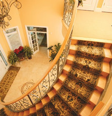 traditional staircase by Zoroufy