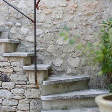 Staircases out of Limestone