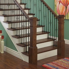 Traditional Staircase by The Empire Company