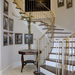 eclectic staircase by A Waters