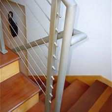 Contemporary Staircase by InterDesign Studio
