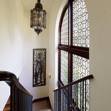 Mediterranean Staircase by Alderson Construction