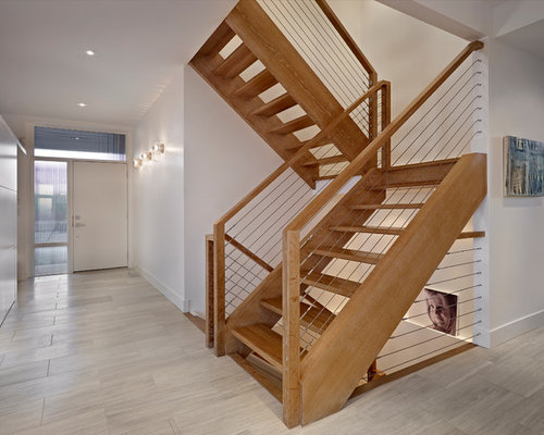 Wood And Metal Railing Home Design Ideas Pictures