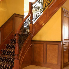 Eclectic Staircase by Heartwood Corp