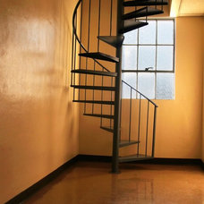 Modern Staircase by American Stair and Rail Artisans