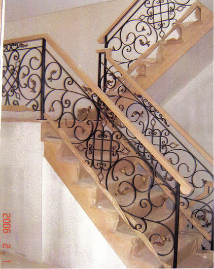 Mediterranean Staircase by Home Stairs & Railings